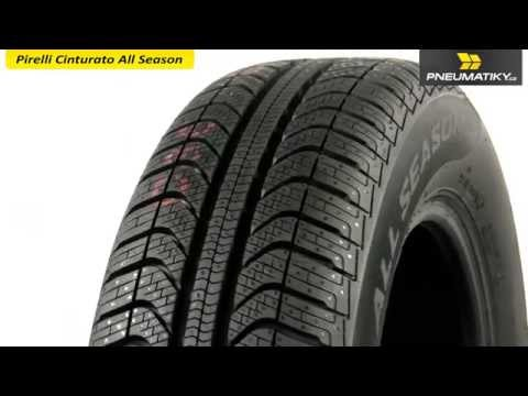 Youtube Pirelli Cinturato All Season 185/60 R15 88 H XL Celoroční