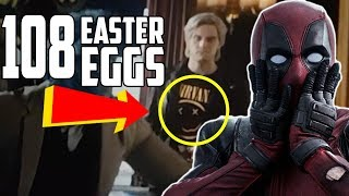 Video Deadpool 2 Every Easter Egg and Hidden Reference MP3, 3GP, MP4, WEBM, AVI, FLV Oktober 2018