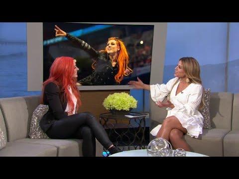 Becky Lynch on Fox Good Day L.A. Interview / women in WWE Cyborg