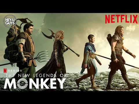 The New Legends of Monkey Season 2 – Chai Hansen & Josh Thomson on Netflix's classic fantasy