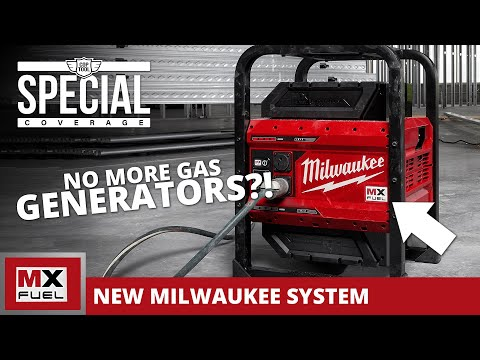 Milwaukee MX Power Station SHOCKS everyone 1800W/3600W Bye-Bye Inverter Generators! MX FUEL