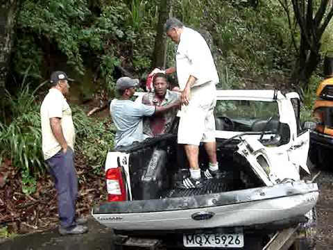 Acidente na Serra de Soturno (Cachoeiro de Itapemirim X Vargem Alta)