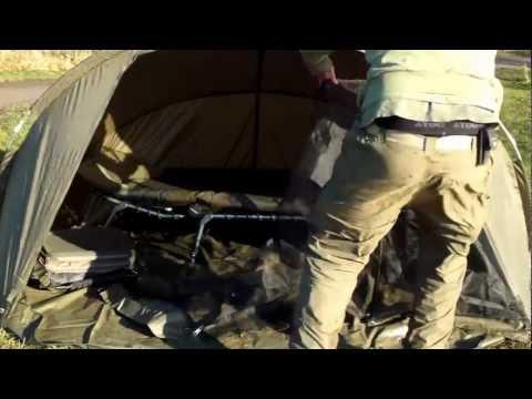 Cyprinus XLR8 Super Lighweight Bivvy Review Video