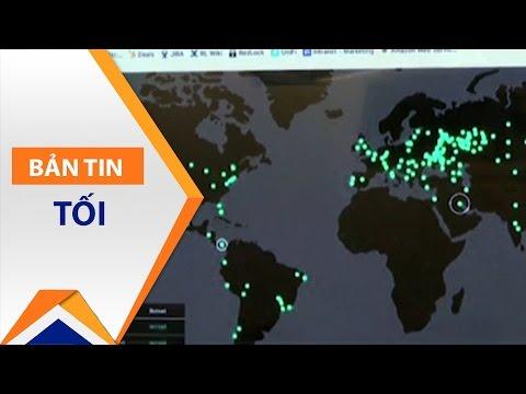 99 Quốc gia, 75.000 máy tính bị tấn công mạng | VTC1 - Thời lượng: 2 phút, 10 giây.