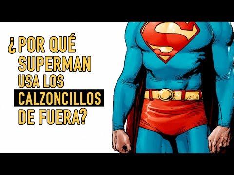¿Por qué Superman usa los calzoncillos de fuera?