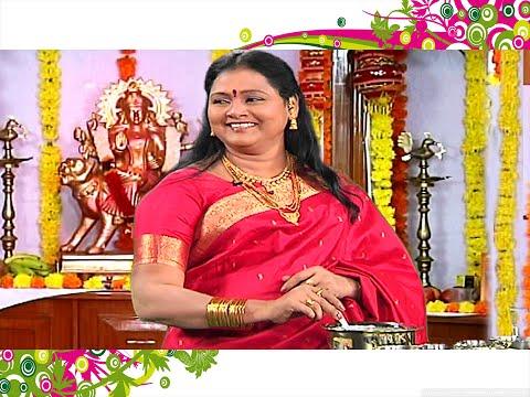 Dasara Special Ruchi Chudu with Comedian Saroja