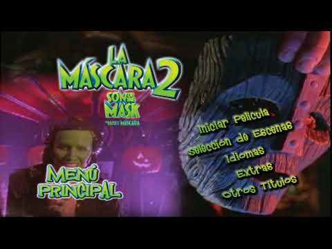 The Mask 2 Son Of The Mask DVD Menu