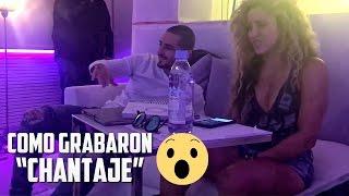"Maluma y Shakira Grabando ""Chantaje"" en el Estudio (The Making of Chantaje) HD"