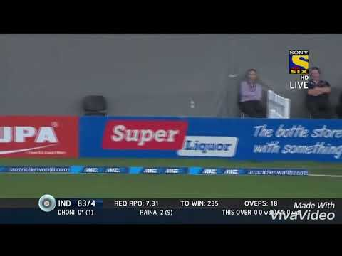 Video MS Dhoni 50(59) vs New Zealand in 2014 download in MP3, 3GP, MP4, WEBM, AVI, FLV January 2017