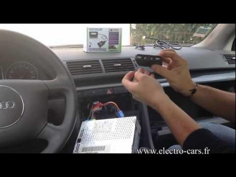 montage d'une interface usb sd mp3 sur audi A4 avec autoradio audi concert
