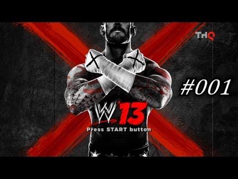 Let's Play WWE '13 [HD] - #001 - Ein kleiner Vorgeschmack