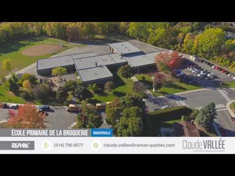 BOUCHERVILLE - LA SEIGNEURIE - Survol du secteur