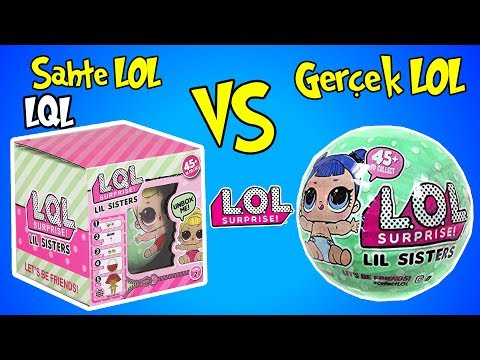 Video Çakma Lol Bebek vs Orjinal Lol Sürpriz Challenge! | 2. Sezon 2. Seri LİL Sister | Bidünya Oyuncak download in MP3, 3GP, MP4, WEBM, AVI, FLV January 2017