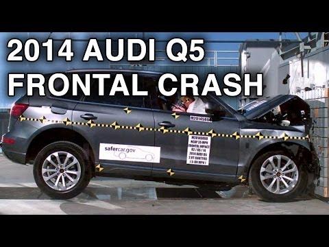 Audi q5 краш тест 2014 фотка