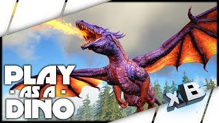 I am DRAGON! :: ARK: Play as a Dino!
