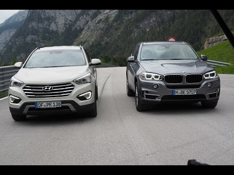 BMW X5 vs. Hyundai Grand Santa Fe – GRIP – Folge 315 – RTL2