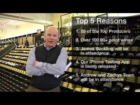 Top 5 Reasons to Attend Super Tuscany Tasting!
