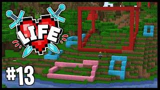THE MEGA BASE BEGINS!!   Minecraft X Life SMP   #13