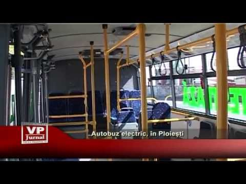 Autobuz electric, in Ploiesti