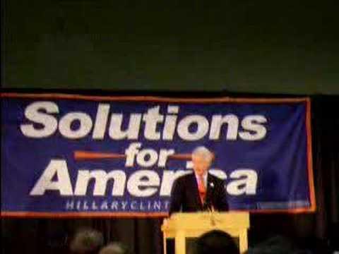 Bill Clinton at Virginia Tech : Health Insurance