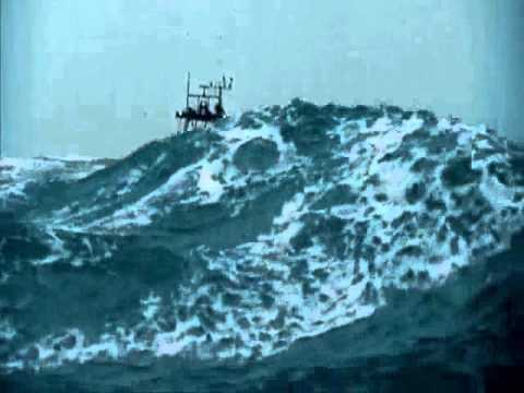 Russian Boat in Big Ass Waves
