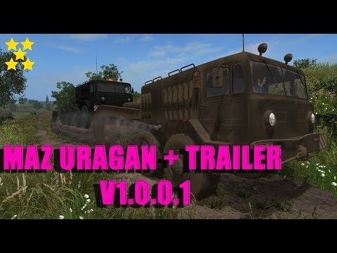 MAZ URAGAN + Trailer v1.0.0.1