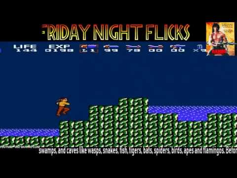 Friday Night Flicks! Episode 2:  RAMBO For NES!  3-23-18