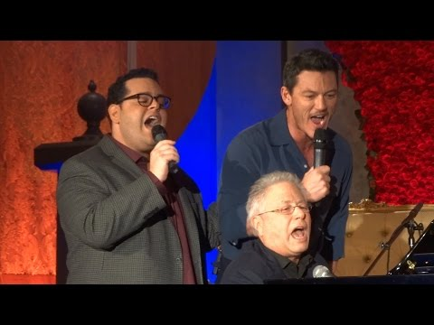 "0 - 'Beauty and the Beast' Clip: Luke Evans & Josh Gad Sing ""Gaston"""