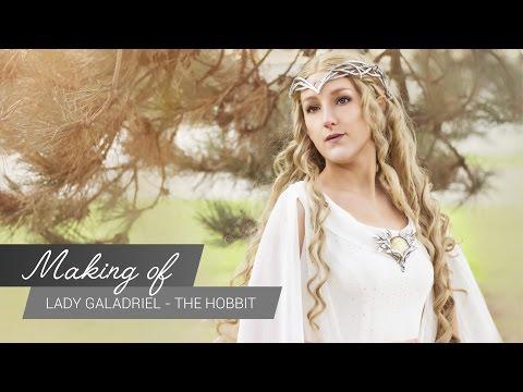 MakingOf - Lady Galadriel Hobbit  | JakCosplay