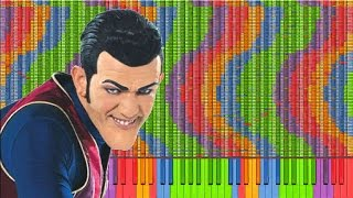 Video [Black MIDI] We Are Number One 1.5 million ~ Carlos S. M. MP3, 3GP, MP4, WEBM, AVI, FLV Mei 2018