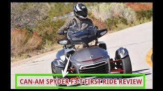 7. Can Am Spyder F3 T First Ride Review