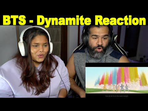 First TIme Reacting to BTS Dynamite    The S2 Life