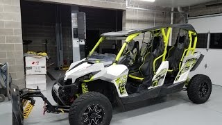 6. 2015 Can Am Maverick XDS Turbo walk around and review