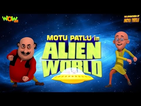 Alien World - Movie - Motu Patlu - ENGLISH, SPANISH & FRENCH SUBTITLES!
