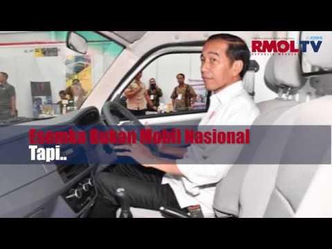 Presiden Jokowi Mengakui Esemka Bukanlah Mobil Nasional