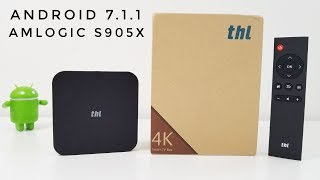 The review of the THL Box 1 Pro  Android Media Center.Find the THL TV Box on AMAZON: http://geni.us/JP3P -                                              Tinydeal: http://fas.st/Y1ZDwH -                                             Gearbest: http://bit.ly/2t65HPF -                                                                          In this review i check out the new THL Box 1 Pro Android TV Box. This device is powered by the Quad-Core Amlogic S905X, 2GB RAM and 16GB of internal Storage. We also have the latest Android OS running on it; Android 7.1Throughout the video you will be able to check out the performance, Benchmark results, the speeds for the internal storage, Gaming, What video files work and what video files don't work and much more.