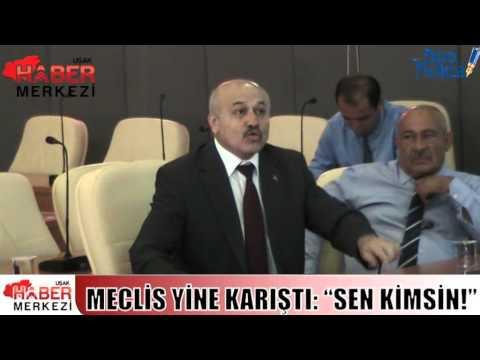 İl Genel Meclisi Toplantısına 'Sen Kimsin' Tartışması Damga Vurdu!
