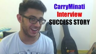 """CarryMinati exclusive interview in which he is telling about his personal life and revealing the secret how he became a YouTube star in just 1 year. to know about him more watch this full video to know more about CarryMinati (Ajay Nagar). what he did in starting to viral his videos.A funny and healthy roast Interview by Team AQActors:Vatan SachanMahesh BairwaCamera PersonPoonam YadavDisclaimer: Disclaimer: Please do not judge anyone's personality or hate them on basis of my video. This channel & video is meant for entertainment purposes only and We do not intend to hurt the sentiments of any individual, community, sect or religion. We focus on joking and try to make our content funny to see you all laughing. It is neither about Politics nor about hating someone please do not go on a way to hate someone.-~-~~-~~~-~~-~-Please watch: """"IMPRESSING {HOT GIRL} GONE WRONG with """" https://www.youtube.com/watch?v=HQbW8327lfE-~-~~-~~~-~~-~-"""