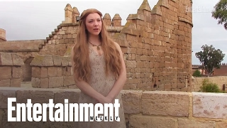 Game of Thrones stars such as Sophie Turner, Emilia Clarke, Natalie Dormer, Maisie Williams, Gwendoline Christie and more talk about fans asking them about ...