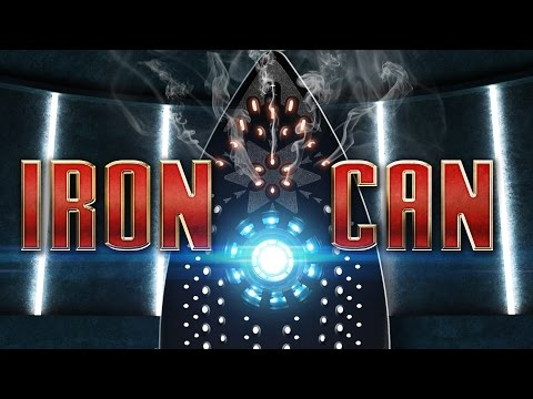 Iron Can A Parody of Marvel  s  Iron Man  Film That Turns a Regular Clothes Iron Into a WrinkleBlasting