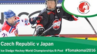 Tomakomai Japan  city photo : Czech Republic v Japan | Prelim | 2016 Ice Sledge Hockey World Championships B-Pool, Tomakomai