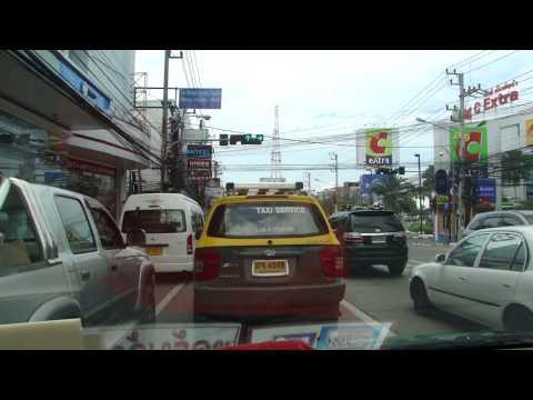 Chegando em Pattaya, na Tailândia