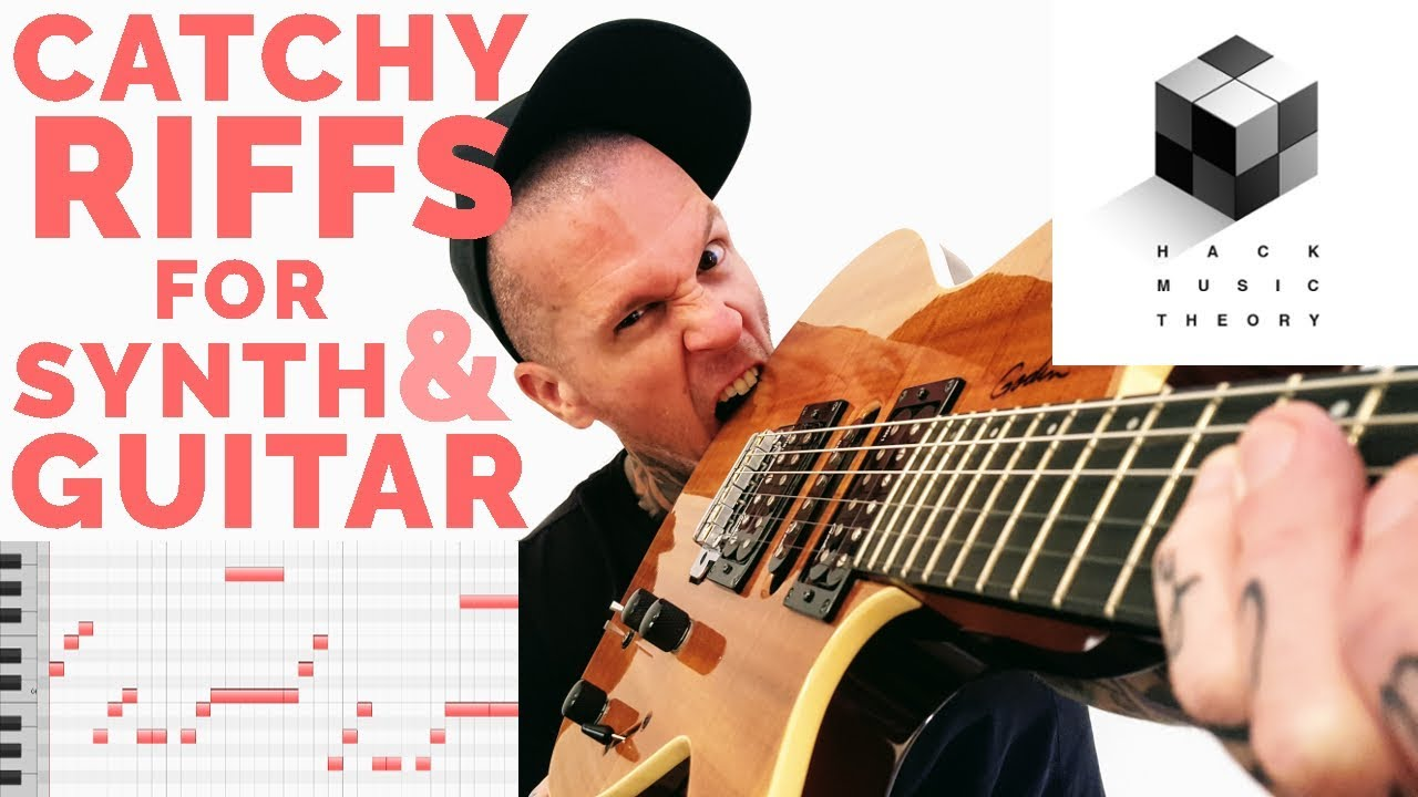 How to Compose a Song – Write a Guitar Riff or Melody over a Chord Progression | Hack Music Theory