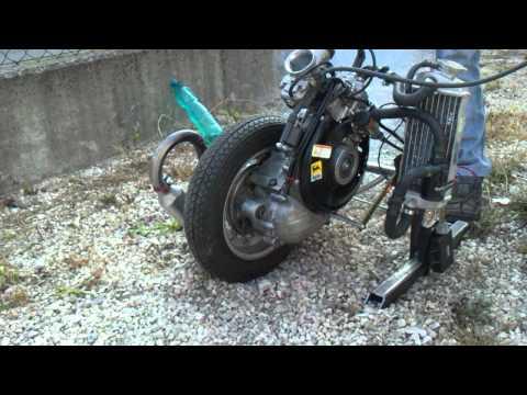 motore vespa con cilindro rotax - test