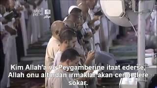 Fetih Suresi Kabeİmamı Shuraim / Sudais  Türkçe Altyazılı Mealli