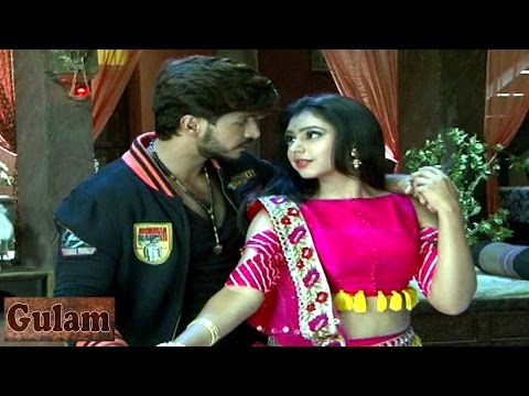 Shivani & Rangeela ROMANCE in Gulam 26th April 201