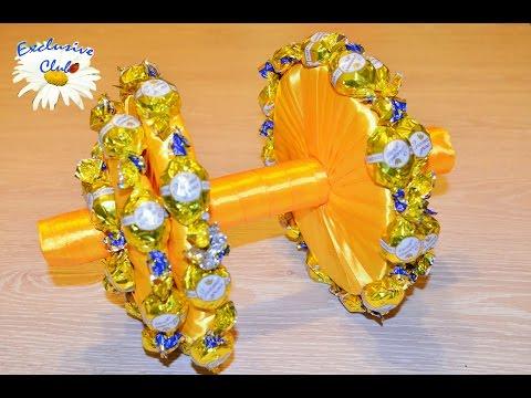 Ружье из конфет своими руками пошаговое фото для начинающих
