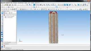 Проектирование многоэтажной гостиницы в КОМПАС-3D