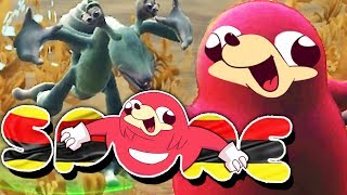 DON'T MESS WITH UGANDAN KNUCKLES!!! | Spore: Planet Uganda (Episode 2)