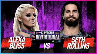 Video ALEXA BLISS vs. SETH ROLLINS: Rd. 1 - WWE 2K18 Superstar Invitational Tournament MP3, 3GP, MP4, WEBM, AVI, FLV Juni 2018